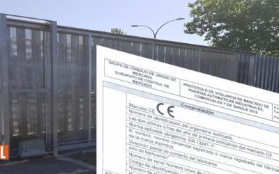 Campaña del Ministerio para la Inspección de puertas de garaje, comerciales e industriales