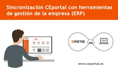 Sincronización CEportal con herramientas de gestión (ERP)